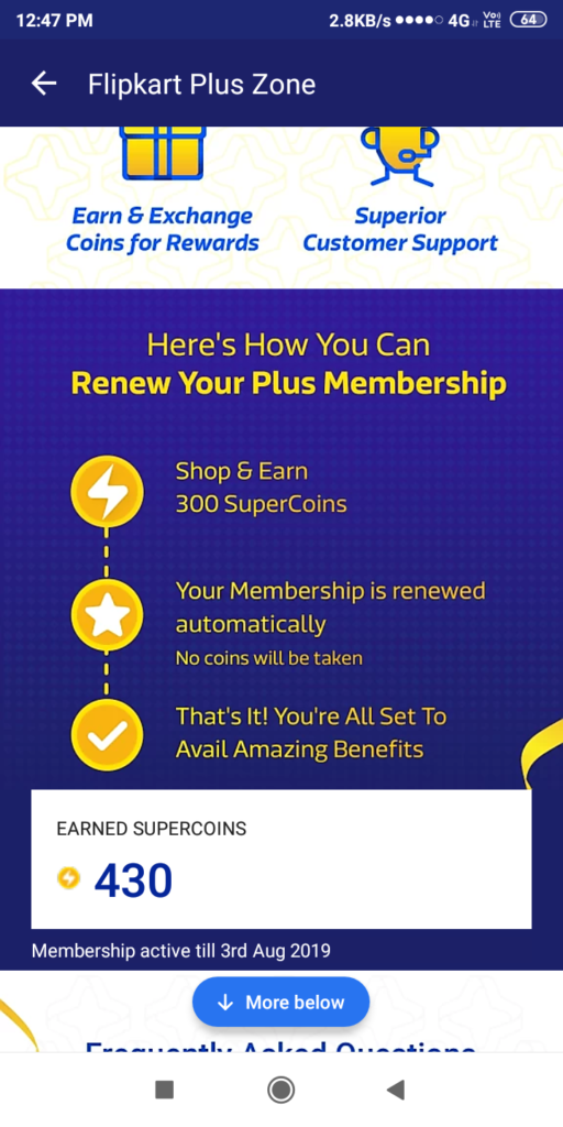 Flipkart Membership Program