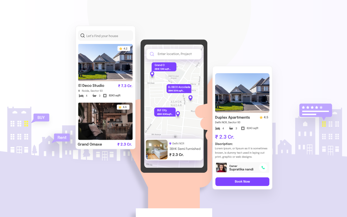 Mobile App For Real Estate Owners